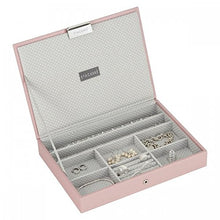 Load image into Gallery viewer, Soft Pink Classic Size Stackers Jewellery Box Top Lid