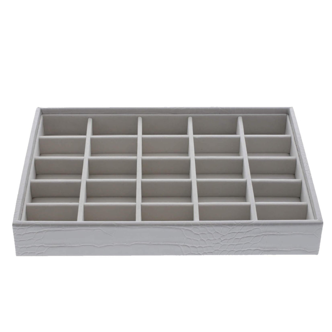 Putty Croc Classic Size Stackers Jewellery Box 25 small compartment tray