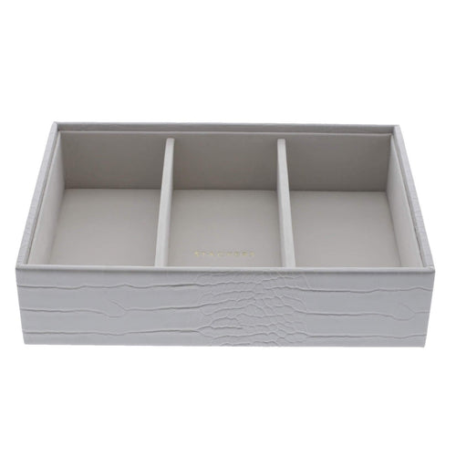 Putty Croc Stackers Jewellery Box 3 Deep Sections