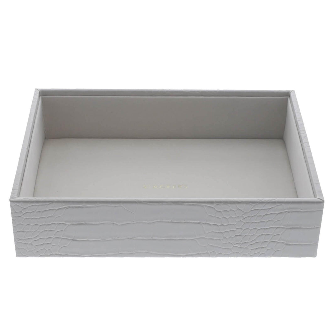 Putty Croc Classic Size Stackers Jewellery Box Deep compartment tray