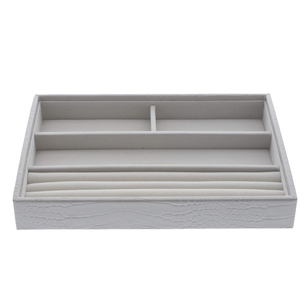 Putty Croc Classic Size Stackers Jewellery Box Rings layer Tray