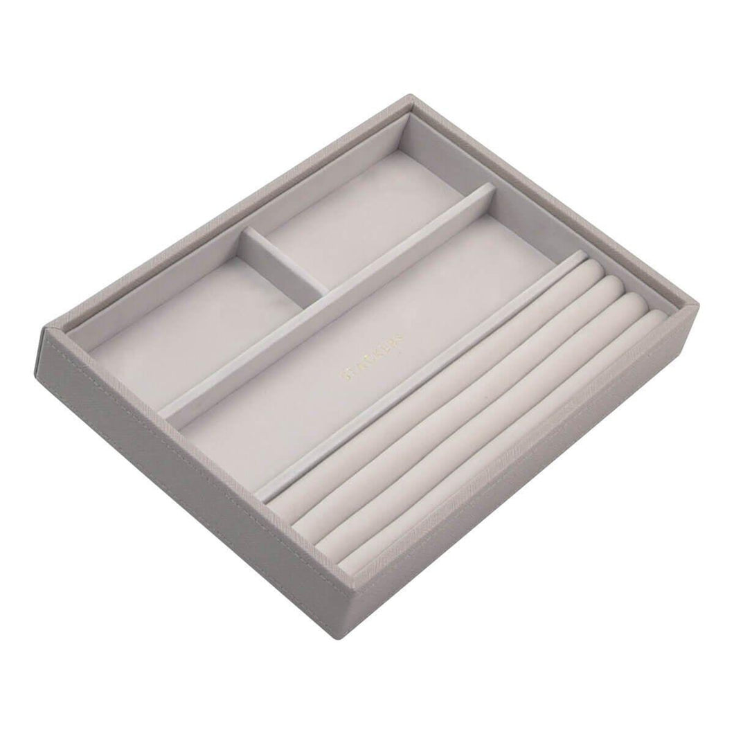 Taupe PREMIUM Stackers Mink Jewellery Box Rings tray