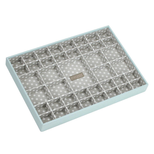 Duck Egg Blue Super Size Stackers Small Section Tray