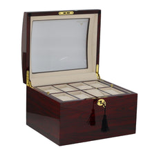 Load image into Gallery viewer, Superior Quality Rosewood Watch Collector Box for 16 watches by Aevitas