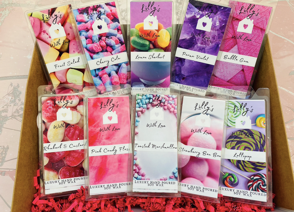 The Full 'Sweet Shop Scent' Wax Melt Collection