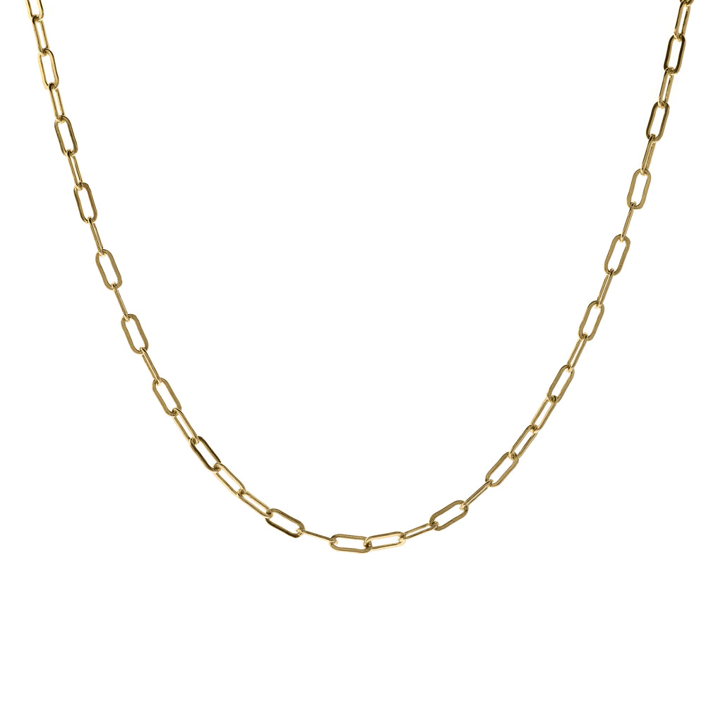 golden links - choker/necklace