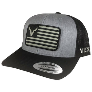 American - Black/Heather Grey/Black Mesh