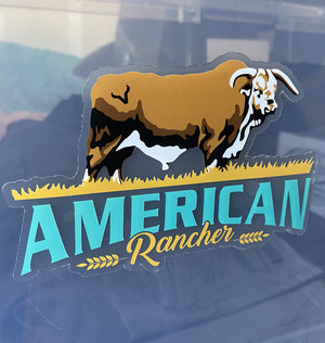 American Rancher Sticker - Braford