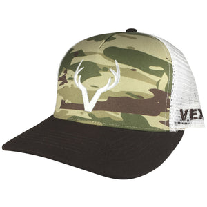 Vexil Outdoors - Buck Deer - Brown/Camo/White Mesh