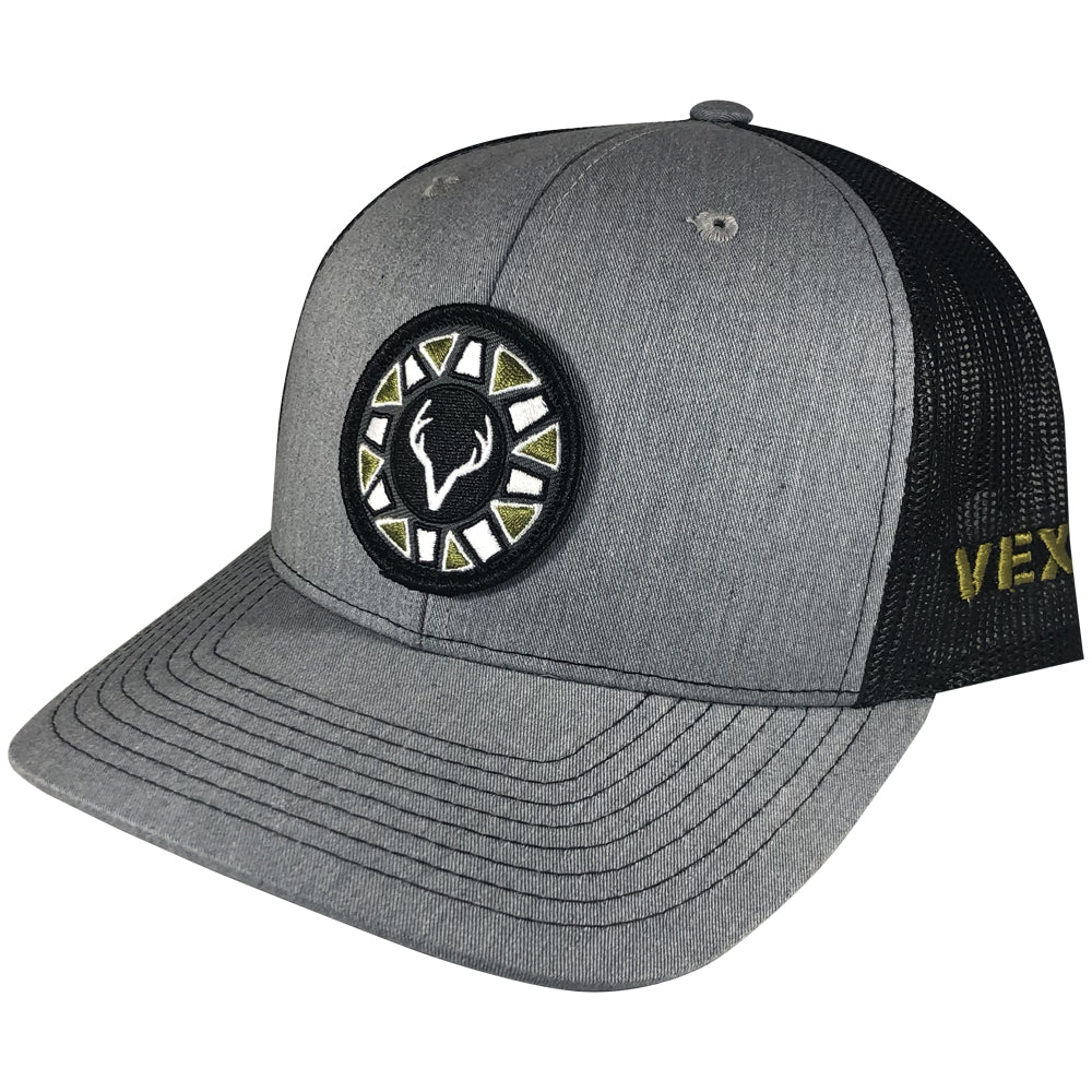 Vexil Outdoors - Elusive Buck - Heather Grey/Black Mesh