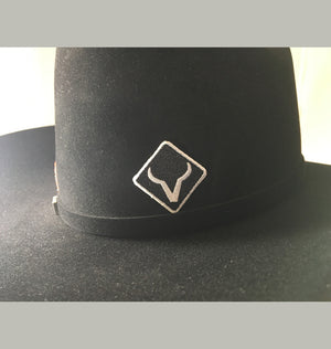 3 - Embroidered Hat Stickers