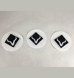Embroidered Hat Stickers