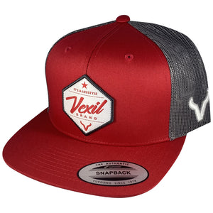 Lifestyle - Crimson Red/Grey Mesh
