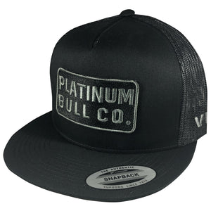 Platinum Bull Co. - Black/Black Mesh