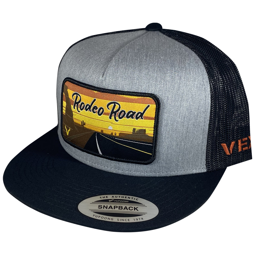 Rodeo Road - Black/Heather Grey/Black Mesh
