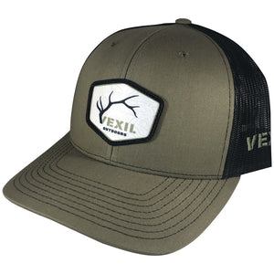 Vexil Outdoors - Topo Elk - Olive/Black Mesh