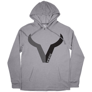 Vexil Brand - Hoodie - Black Pearl - Heather Grey