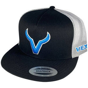 Vexil Brand - Light Blue Icon - Black/White Mesh