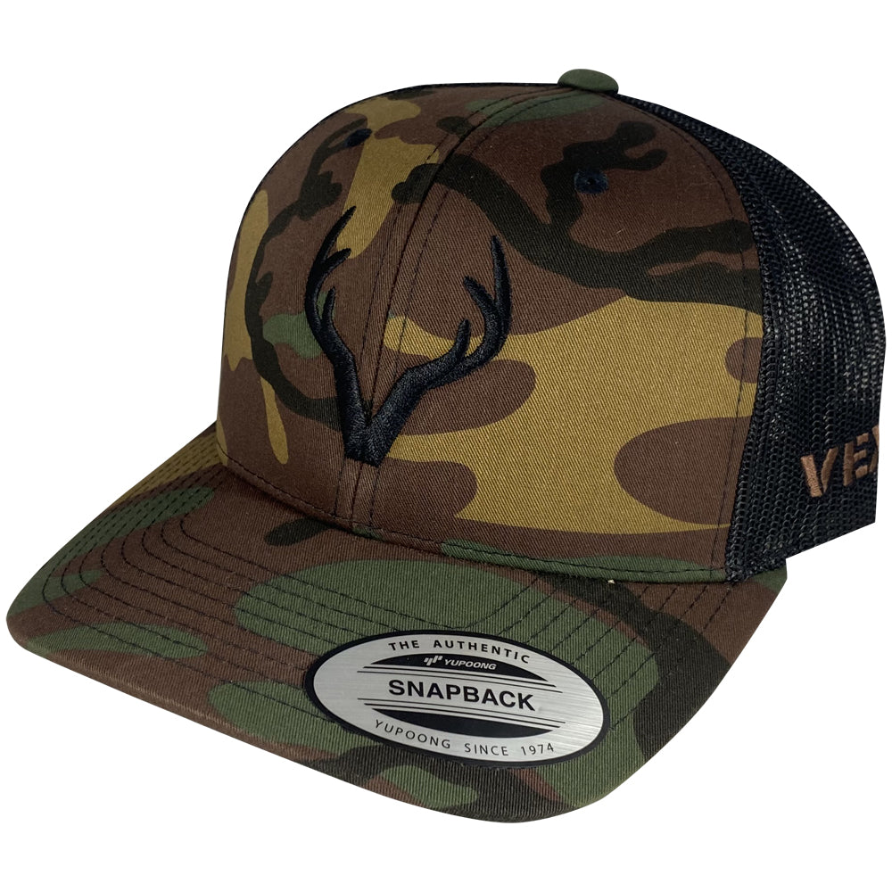Vexil Outdoors - Buck Deer - Camo/Black Mesh