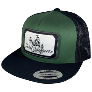 Vexil Vaquero - Black/Forest Green/Black Mesh