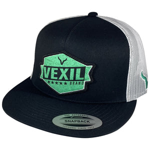 Vexil Badge - Black/White Mesh