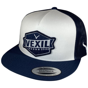Vexil Badge - Navy/White/Navy Mesh
