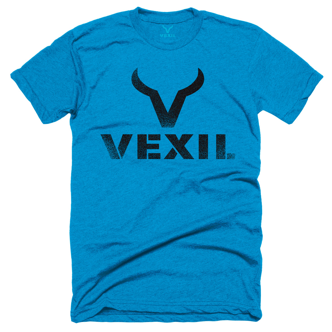 Vexil Brand - Distressed Logo - Turquoise