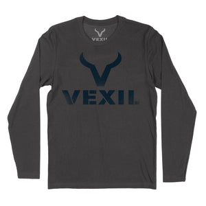 Vexil Brand - Distressed Logo - Long Sleeve - Heavy Metal