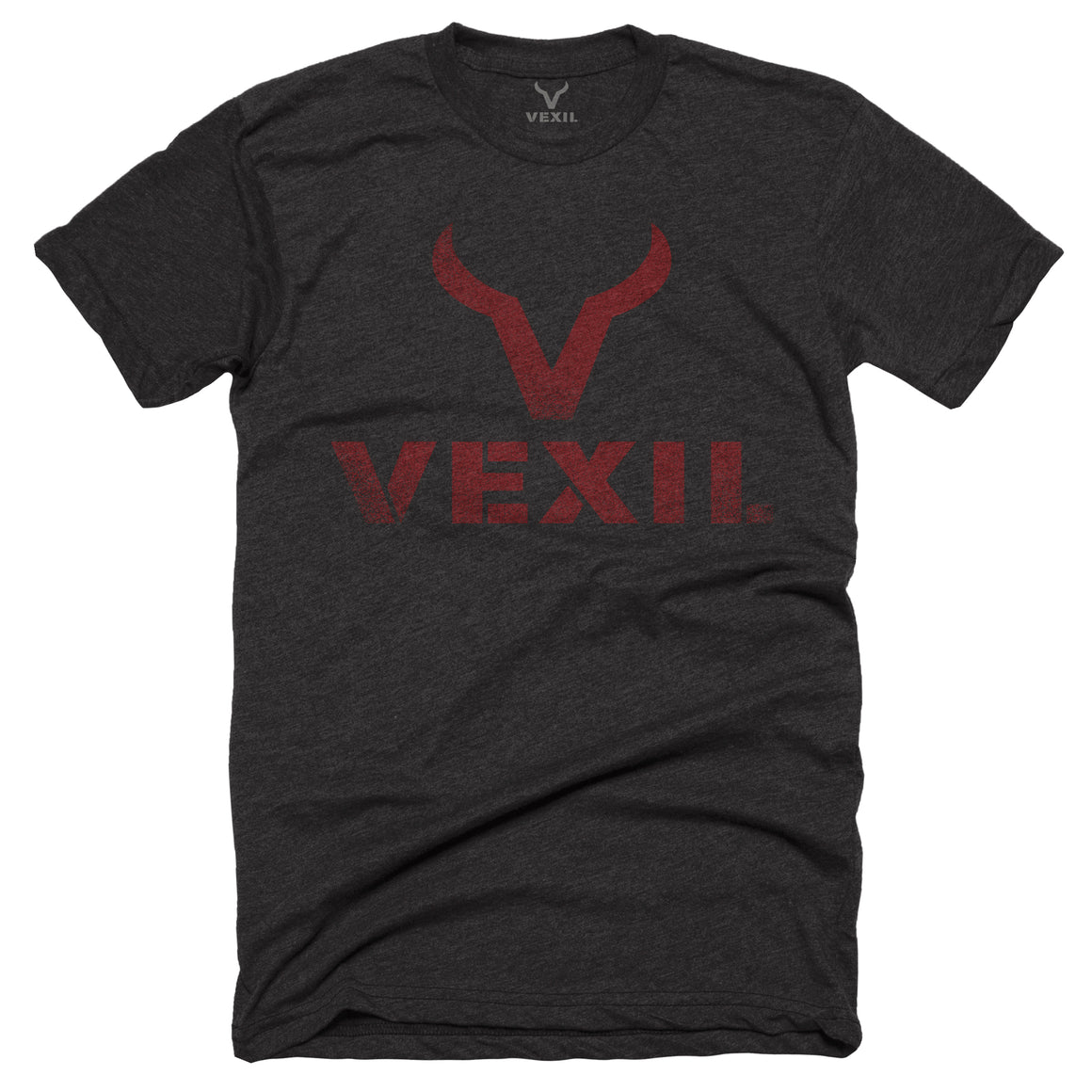 Vexil Brand - Distressed Logo - Charcoal