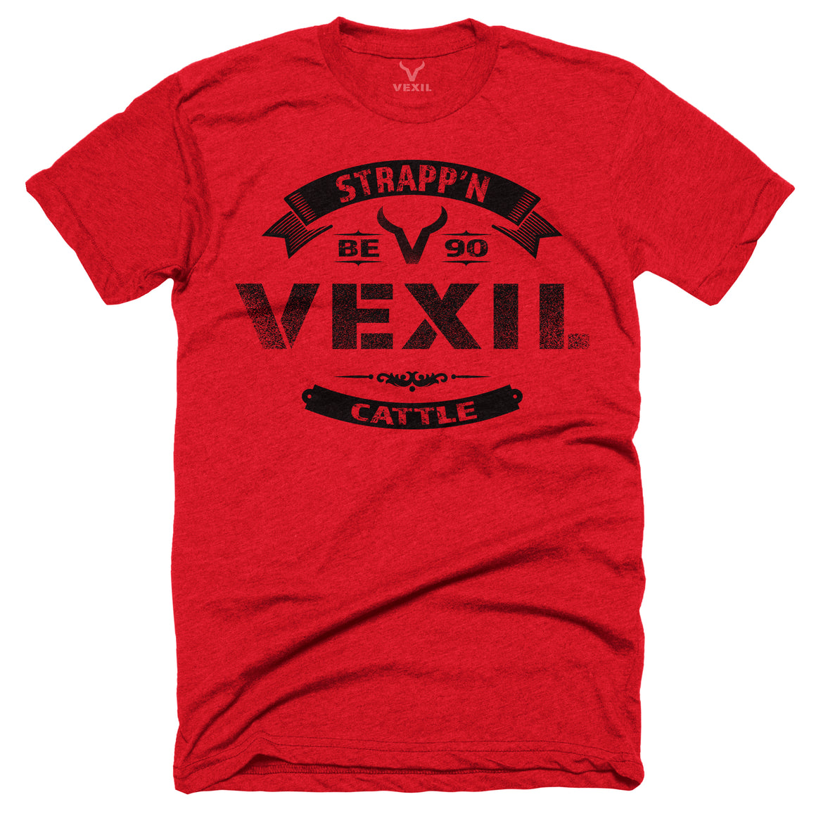 Vexil Brand - Strapp'n Cattle - Red