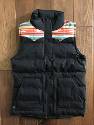 Vexil Brand - Women's Insulated Vest - Black/Serape