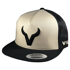 Vexil Brand - Black Icon - Black/Tan/Black Mesh