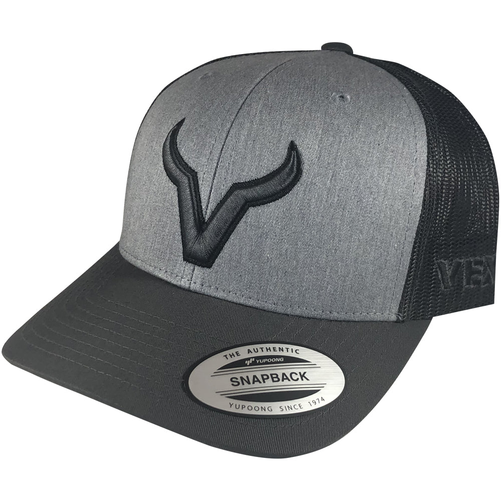 Vexil Brand - Charcoal Icon - Charcoal/Heather Grey/Dark Charcoal Mesh
