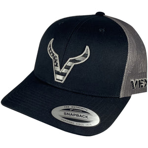 Vexil Brand - Merica Icon - Black/Grey Mesh