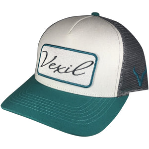 Vexil Brand -  Patch - Teal/White/Gray Mesh