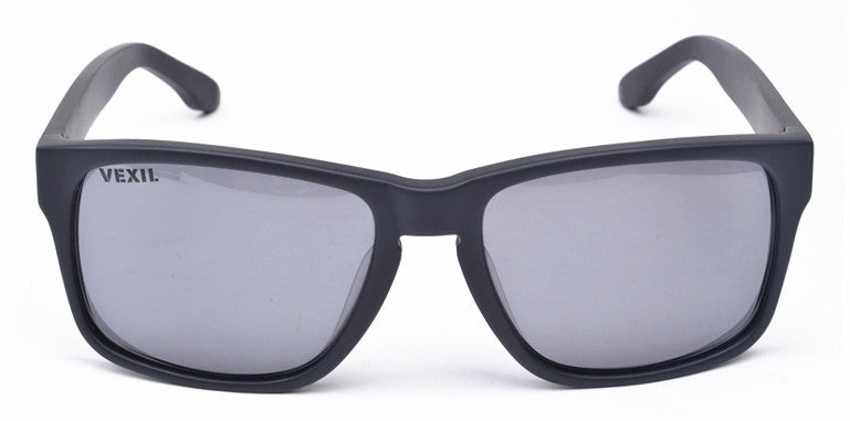 Vexil Brand Bandera Sunglasses - Black Matt - Grey Polarized Lens