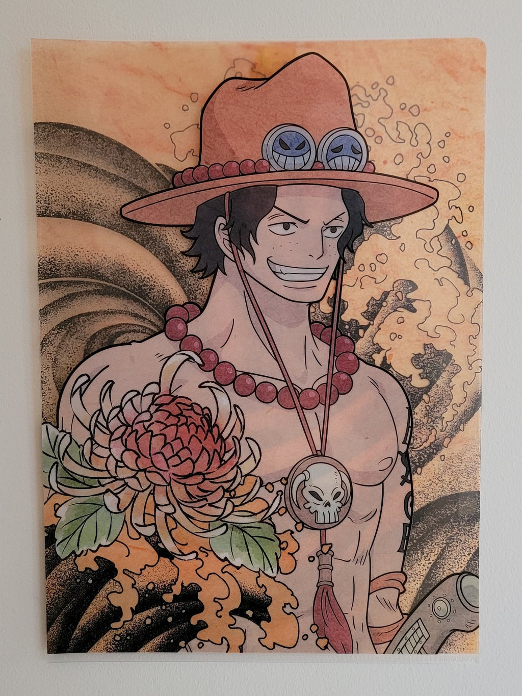 One Piece Ace Clearfile