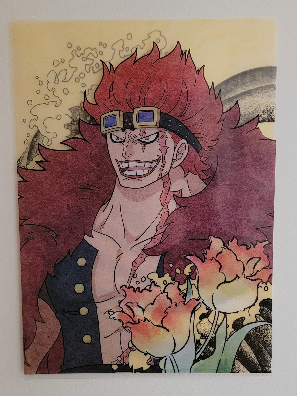 One Piece Eustass Kid Clearfile
