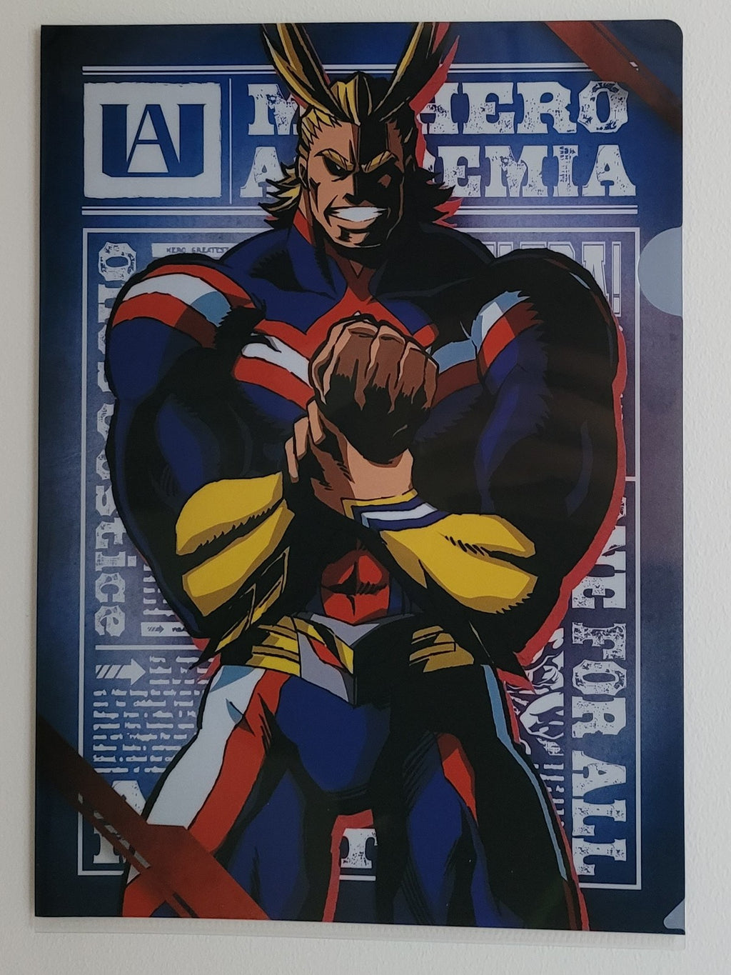 My Hero Academia All Might Clearfile