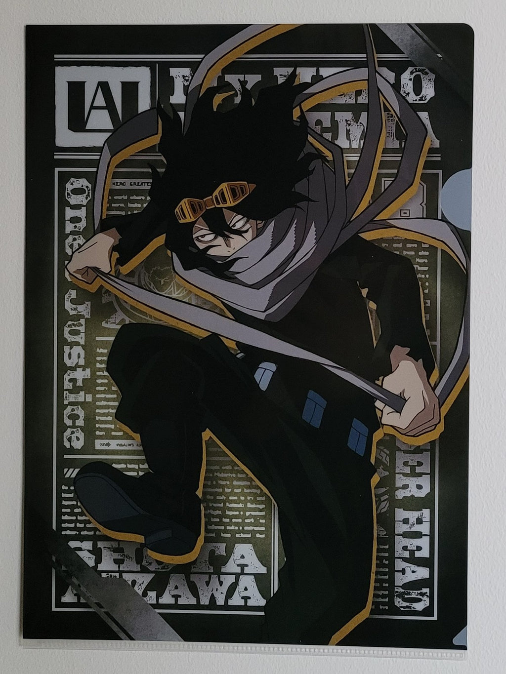 My Hero Academia Aizawa Clearfile