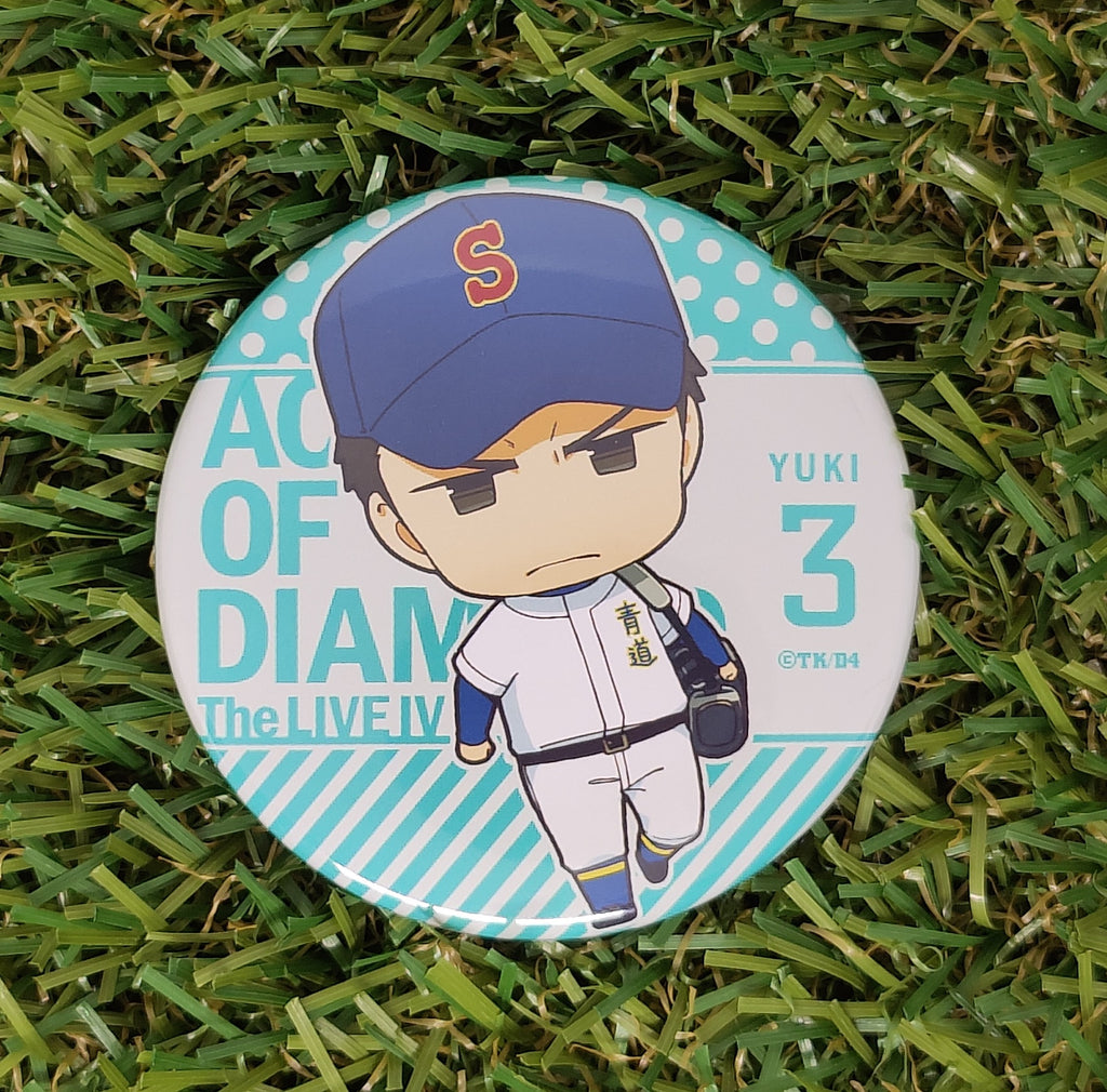 Ace of Diamond Yūki Tetsuya Button