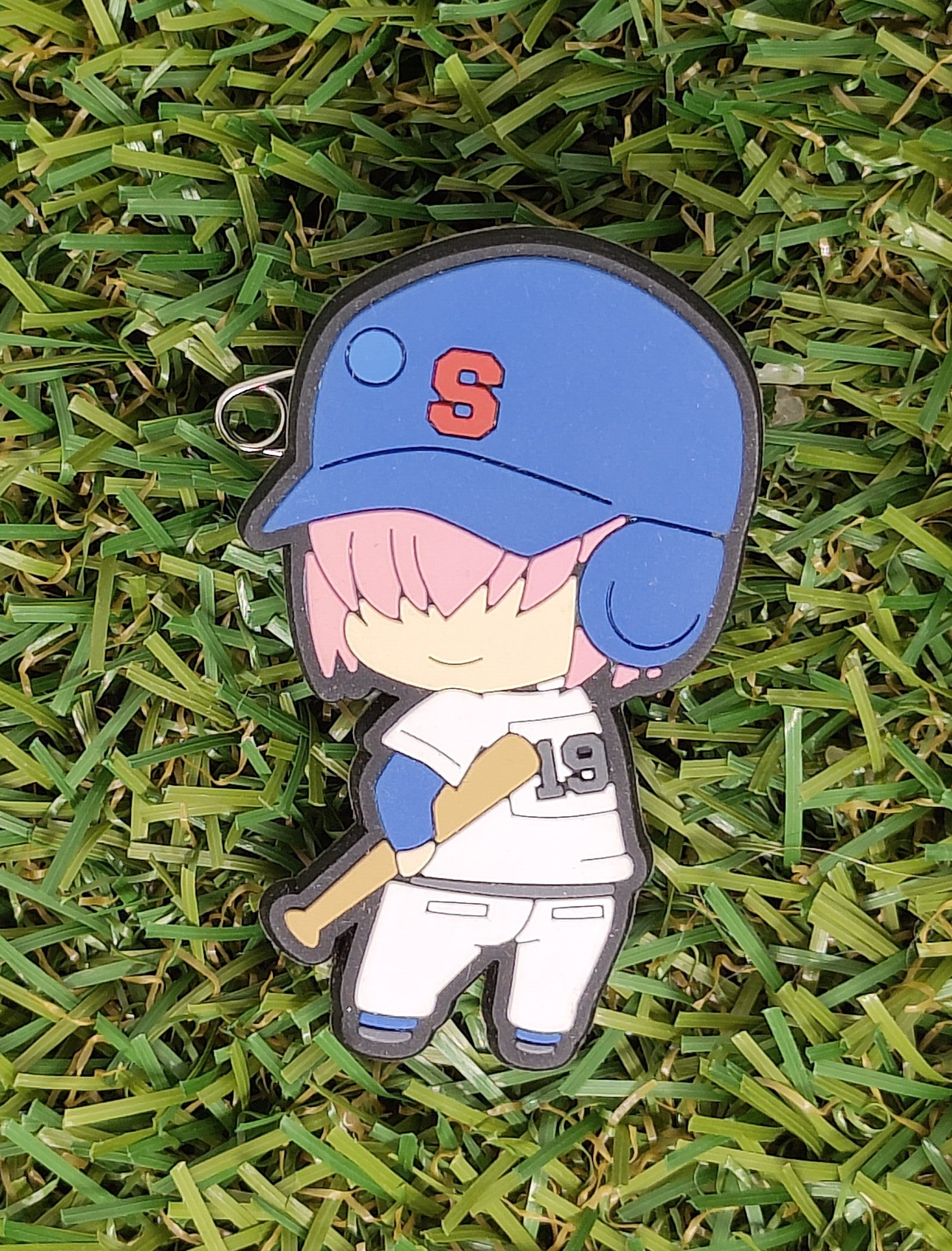 Ace of Diamond Kominato Haruichi Rubber Clip