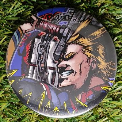 My Hero Academia All Might Button