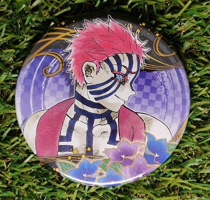 Demon Slayer Akaza Button