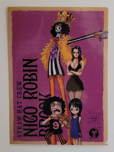 One Piece Nico Robin & Brook Clearfile