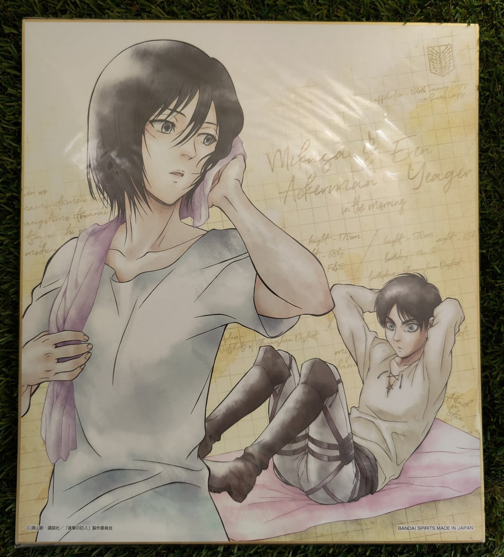 Attack on Titan Shikishi