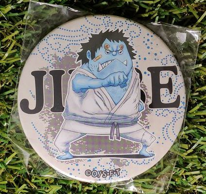 One Piece Jinbe Button