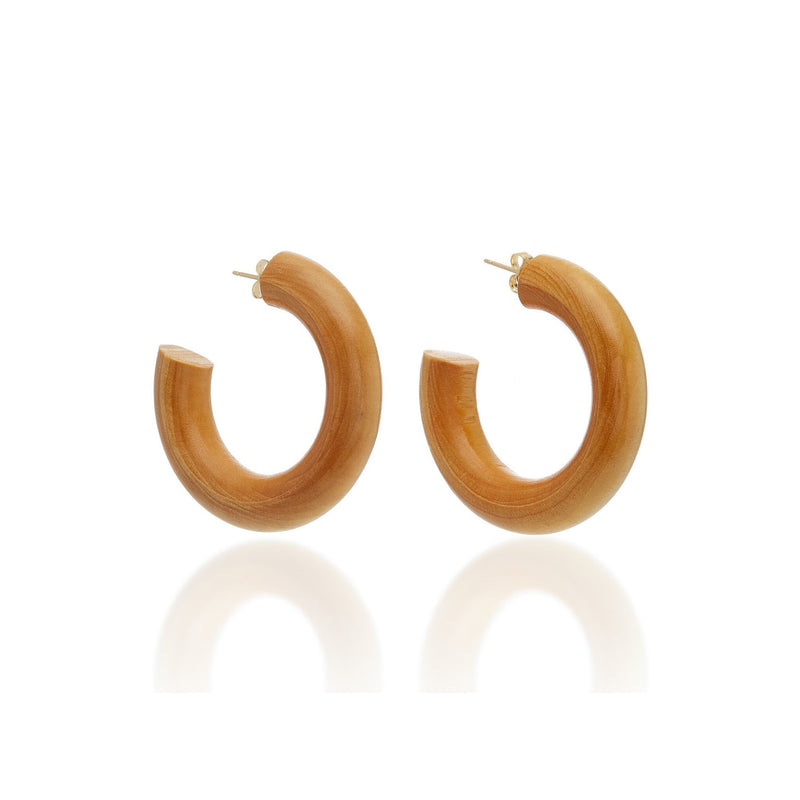 Wood Hoops / medium