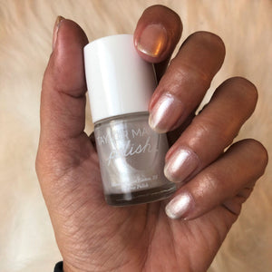 Taylor Made Shimmer White Nail Polish