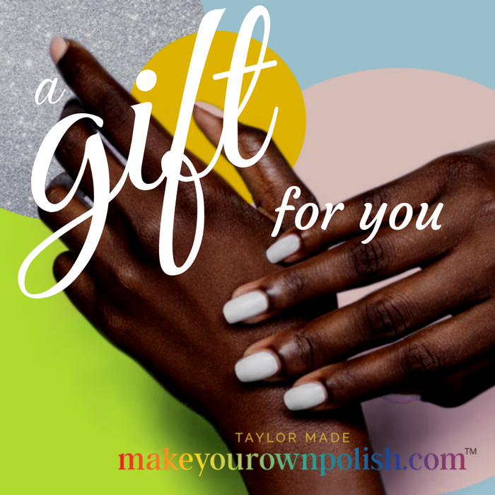 Make Your Own Polish Gift Card